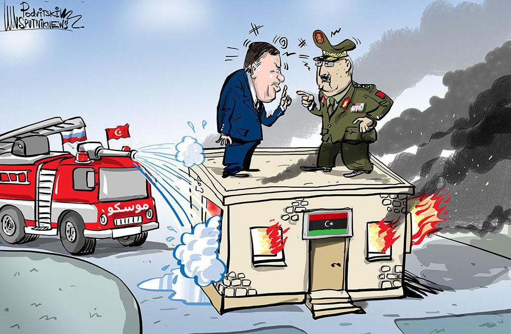 هل تنجح المفاوضات بين حكومة الوفاق والجيش الييبي؟