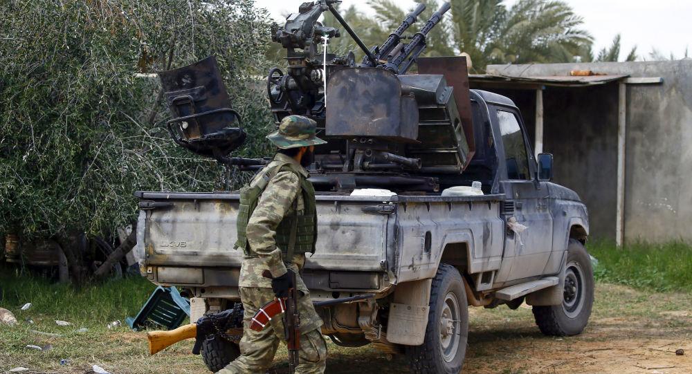 قوات الوفاق الوطني الليبية في طرابلس