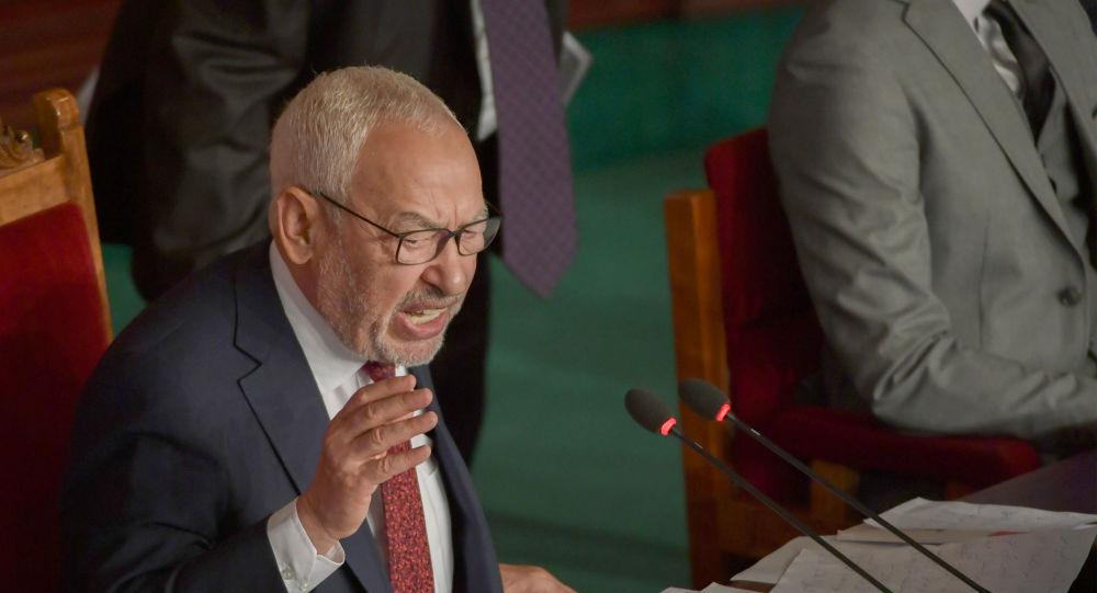 رئيس البرلمان التونسي راشد الغنوشي