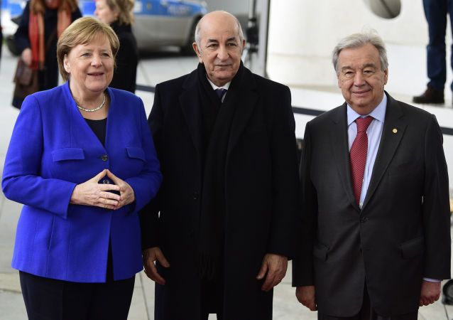 عبد المجيد تبون في برلين