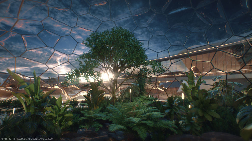 مشروع محطة التجديد الحيوي (EBIOS)، المصمم للحياة والعيش على سطح المريخ