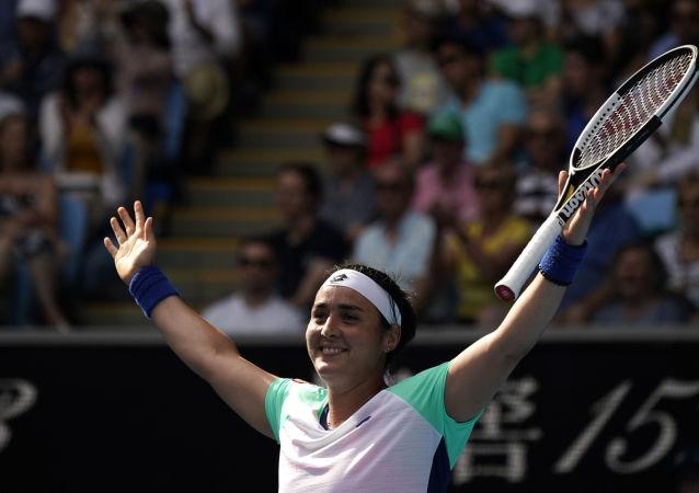 لاعبة التنس التونسية أنس جابر