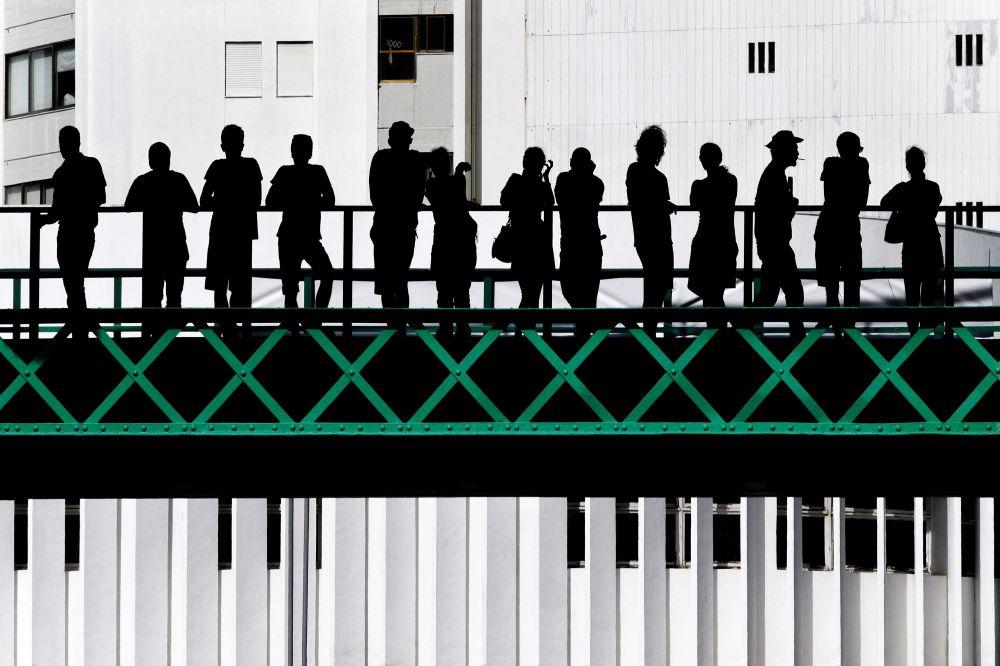 الصورة بعنوان جسر إيفل، للمصور البرتغالي خوسيه بيسو نيتو، الذي تأهل إلى نهائي مسابقة فن البناء لعام 2019