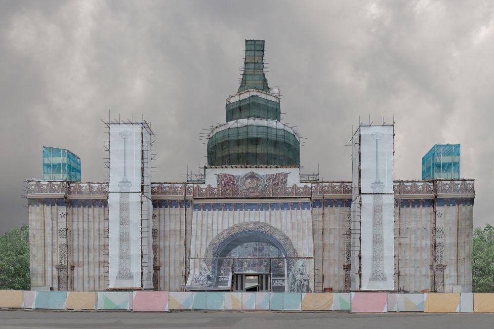 الصورة بعنوان كونستستوك، للمصورة الروسية أوليا بيغوفا، التي تأهلت إلى نهائي مسابقة فن البناء لعام 2019