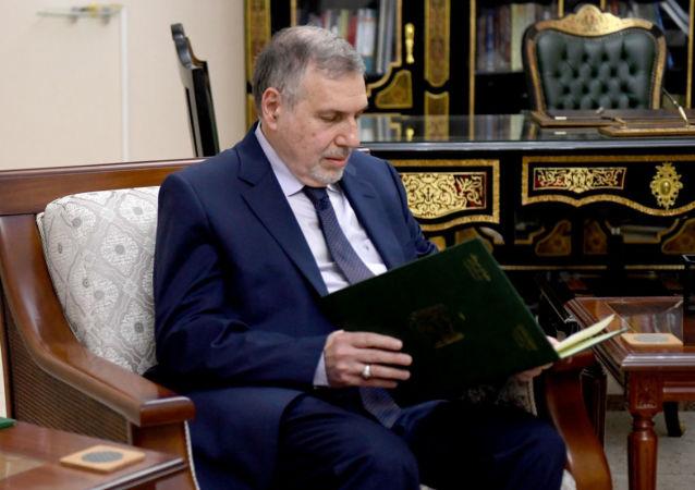 رئيس الوزراء العراقي المكلف محمد توفيق علاوي