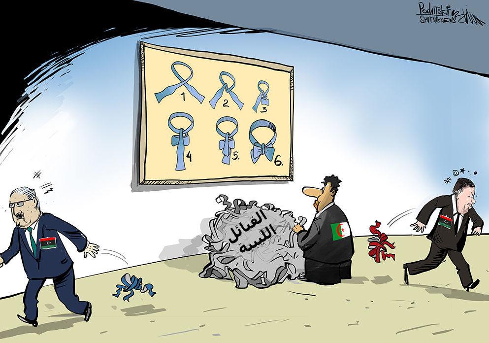 الجزائر تريد إشراك القبائل الليبية في الحوار الليبي