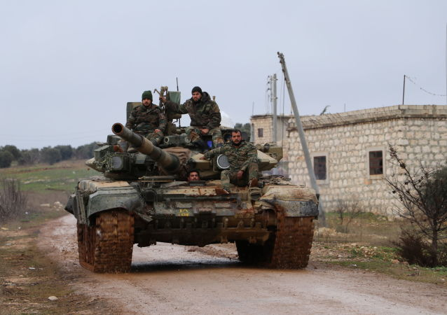 تقدم الجيش السوري جنوب مدينة حلب