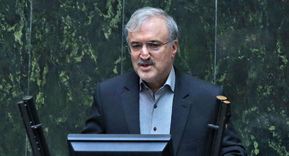 وزير الصحة الإيراني سعيد نمكي