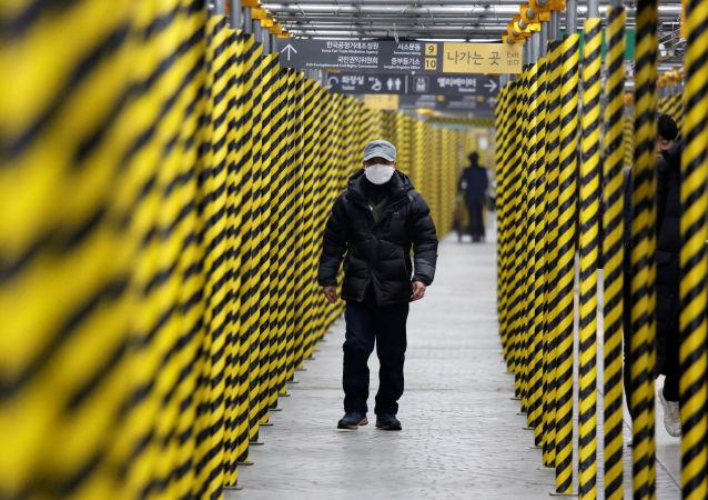 إجراءات وقائية في كوريا الجنوبية بسبب فيروس كورونا الجديد