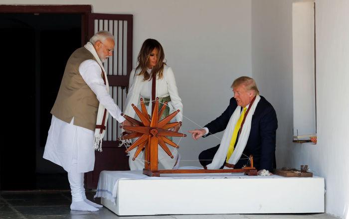 ترامب: الهند تشتري أسلحة أمريكية بقيمة تزيد عن 3 مليارات دولار