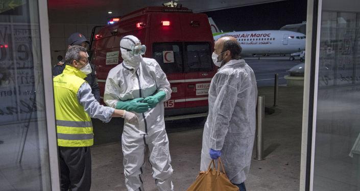 """أمريكا تمنح المغرب مستشفى حديثة لمواجهة """"الفيروسات الخطرة"""".. فيديو"""