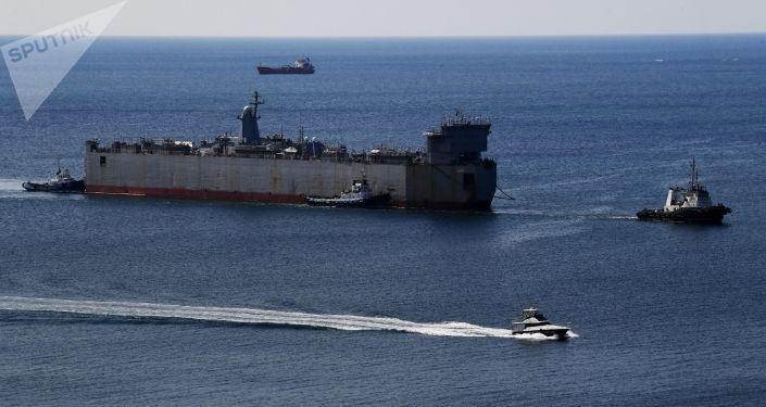 سفن حربية روسية تدخل ميناء في سريلانكا