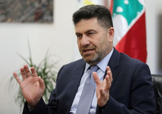 وزير الطاقة اللبناني ريمون غجر