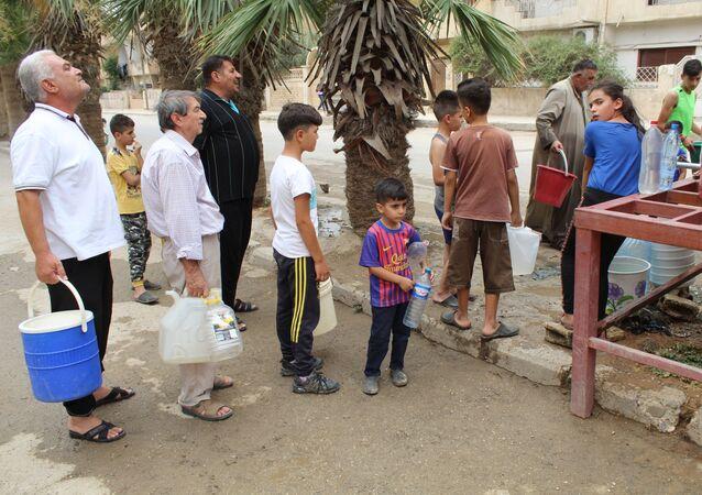 دعوات أممية لتحييد مياه الشرب شرق سوريا عن التنافس التركماني و الكردي