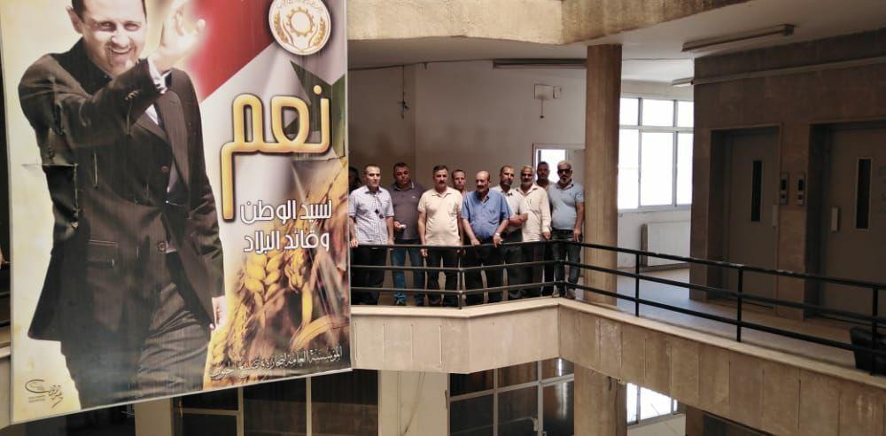 استعادة مقر المؤسسة السورية للحبوب في الحسكة