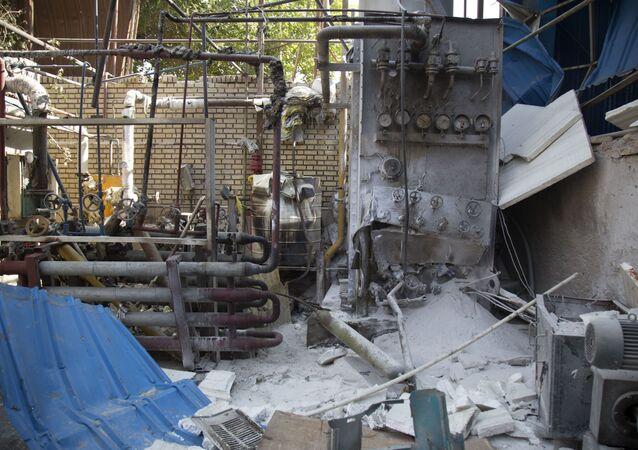 تفجير في إيران