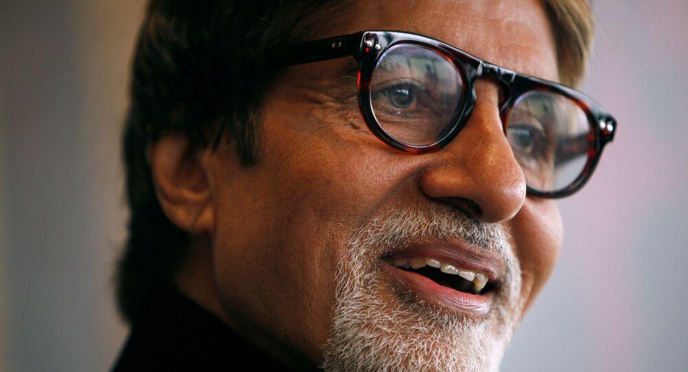 الممثل الهندي أميتاب باتشان