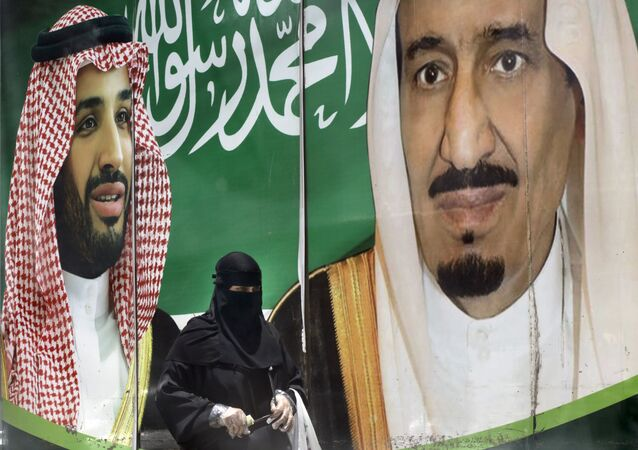 العاهل السعودي الملك سلمان بن عبد العزيز و ولي العهد السعودي الأمير محمد بن سلمان، 30 يونيو 2020