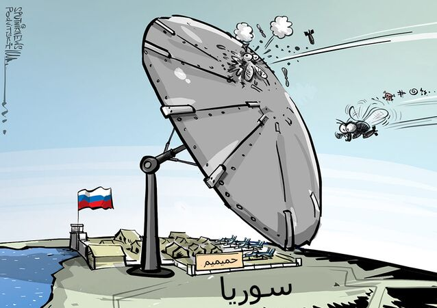 محاولة هجوم  فاشلة على قاعدة حميميم