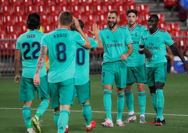 مباراة ريال مدريد وغرناطة (2-1) في الدوري الإسباني