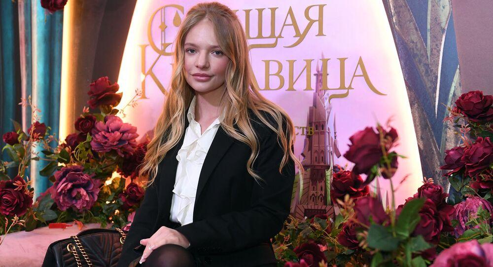 ابنة المتحدث الرسمي باسم الكرملين دميتري بيسكوف، يليزافيتا بيسكوفا