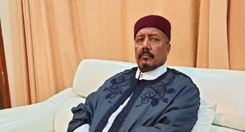 نائب رئيس المجلس الأعلى لمشايخ وأعيان ليبيا والمسؤول عن قطاع النفط والغاز والمياه بالمجلس، الشيخ السنوسي الزوي الحليق