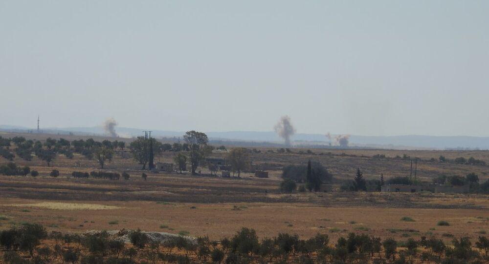 سلاح الجور السوري يستهدف الإرهابيين بريف اللاذقية الشمالي