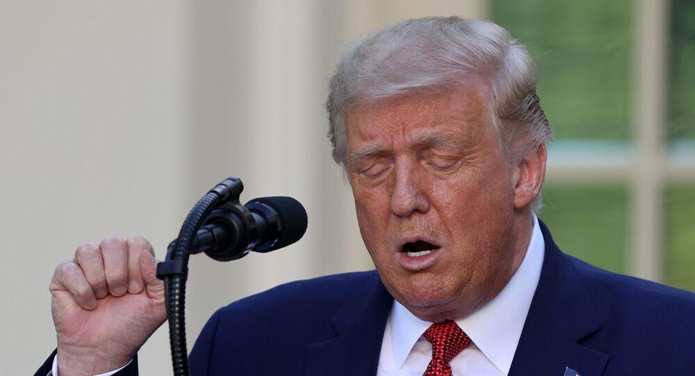 ترامب يعلن انتهاء المعاملة التفضيلية الأمريكية لهونغ كونغ
