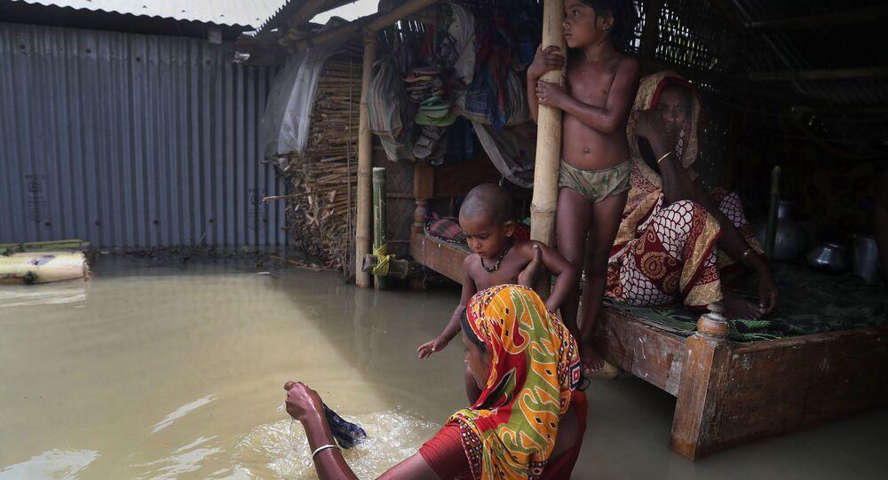 فيضانات آسيا، الهند 14 يوليو 2020