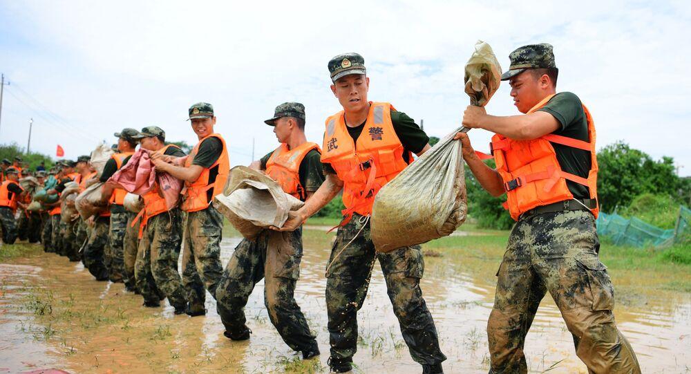 فيضانات آسيا، الصين 14 يوليو 2020