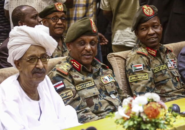 عضو مجلس السيادة الانتقالي في السودان ياسر العطا