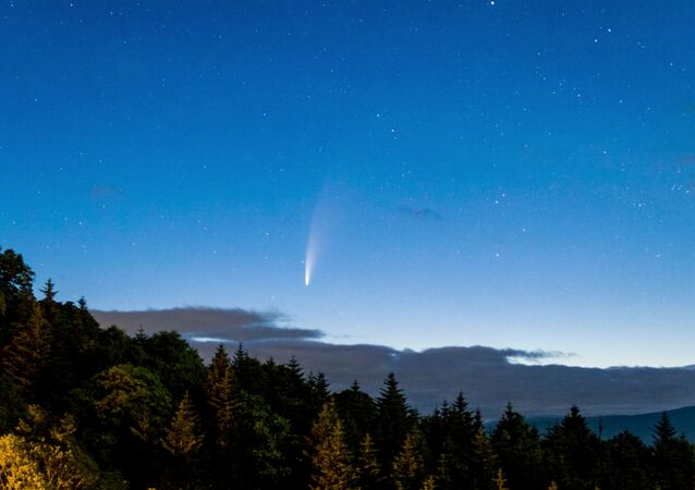 مذنب نيو ويز (NEOWISE)، 11 يوليو 2020 في اليابان