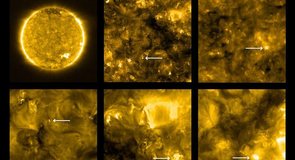 صور الشمس التي إلتقطها مسبار سولار أوربيتر