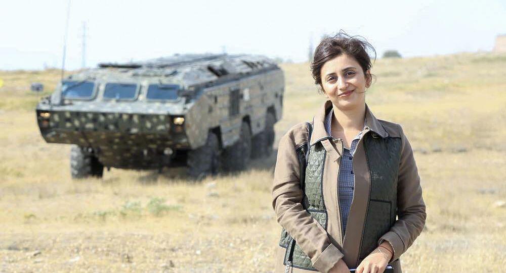 المتحدثة باسم وزارة الدفاع الأرمينية شوشان ستيبانيان