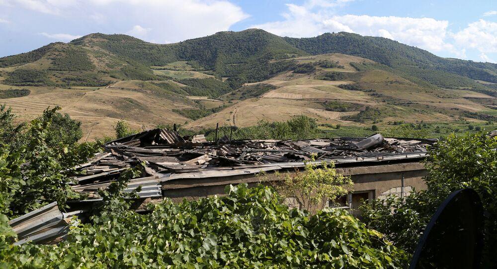 الاشتباكات الحدودية بين أذربيجان و أرمينيا، 15 يوليو 2020
