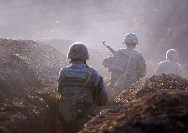 الاشتباكات الحدودية بين أذربيجان و أرمينيا، قوات الجيش الأرمني 14 يوليو 2020
