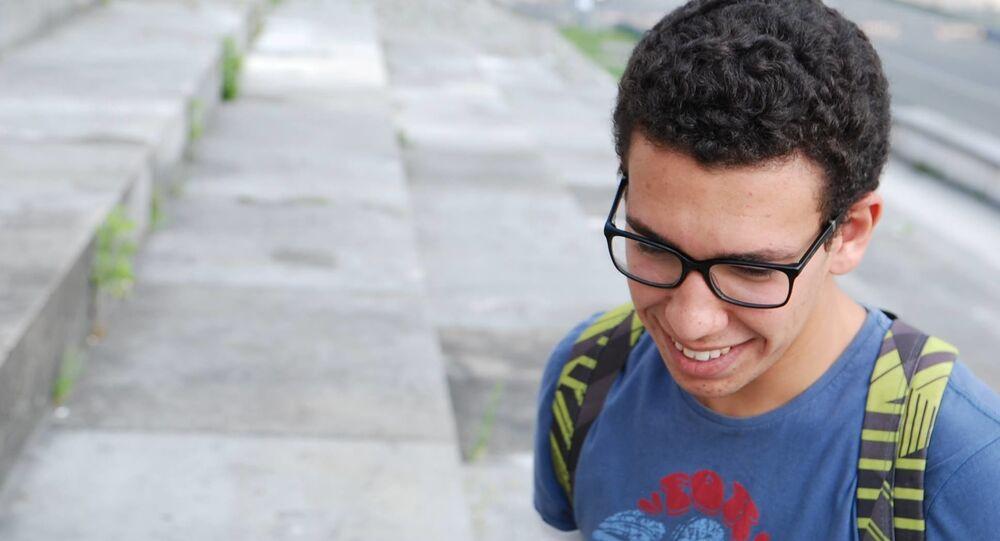 الشاب التونسي وسيم الذوادي