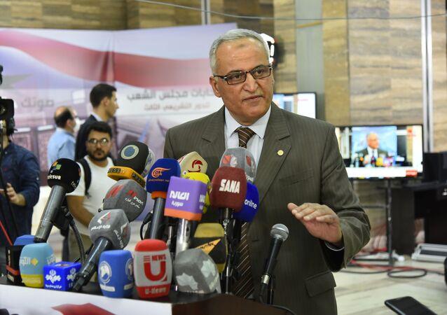 رئيس اللجنة القضائية العليا للانتخابات مجلس الشعب في سوريا سامر زمريق