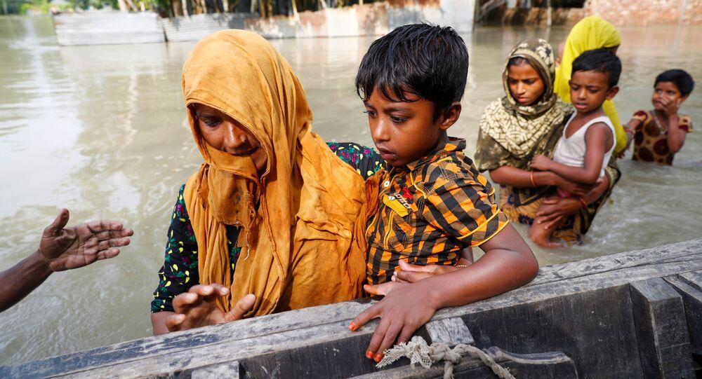 فيضانات آسيا - بنغلادش 18يوليو 2020