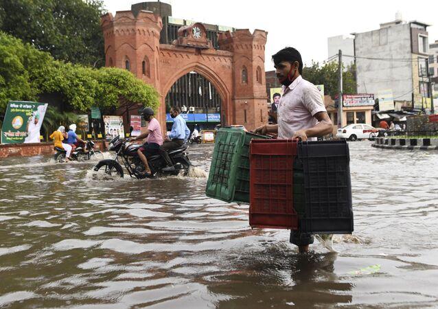 فيضانات آسيا - الهند 18يوليو 2020