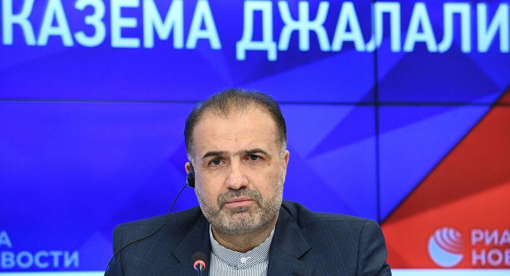السفير الإيراني في روسيا كاظم جلالي