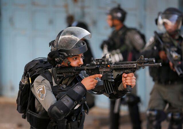 مظاهرات ضد خطة ضم إسرائيل لأراضي الضفة الغربية، الخليل، يوليو 2020