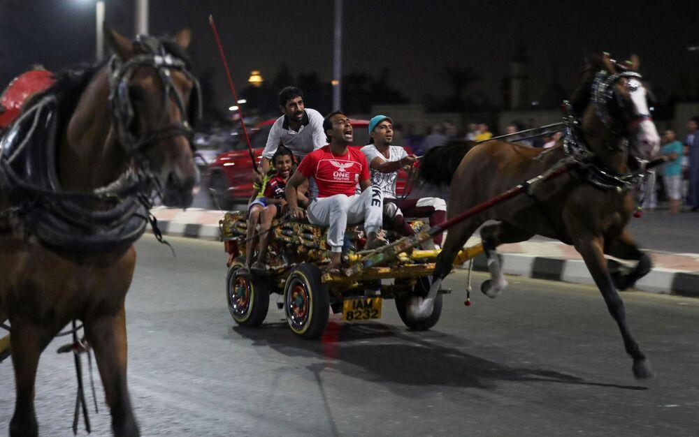 سباق الكارو في القاهرة، مصر 17 يوليو 2020