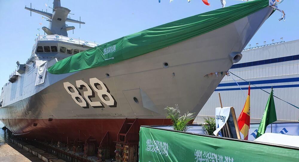 سفينة جلالة الملك الجبيل من نوع كورفيت أفانتي 2200
