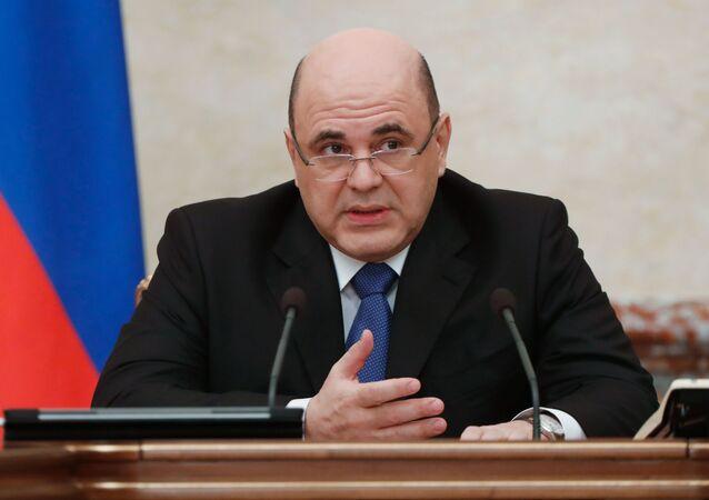 وزير الخارجية الروسي ميخائيل ميشوستين