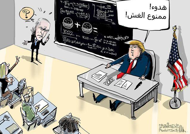 ترامب يعرض على بايدن اجراء اختبار القدرات الذهنية