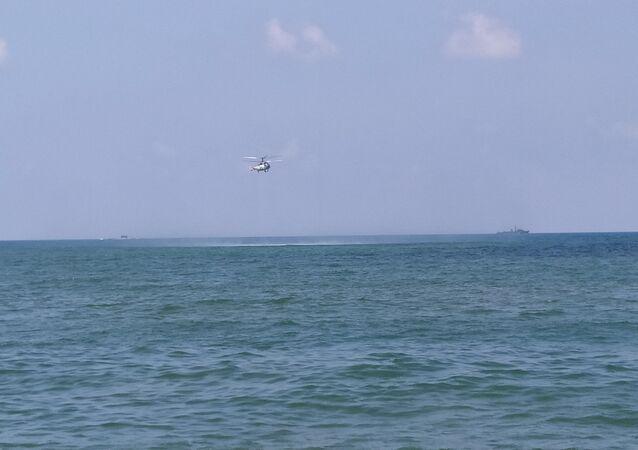 البحرية الروسية تجري تدريبات قبالة شواطئ طرطوس السورية