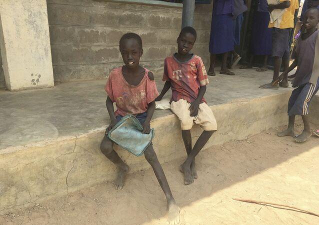 أطفال السودان