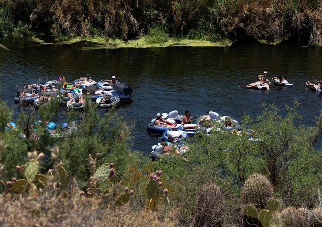 نهر في ولاية أريزونا