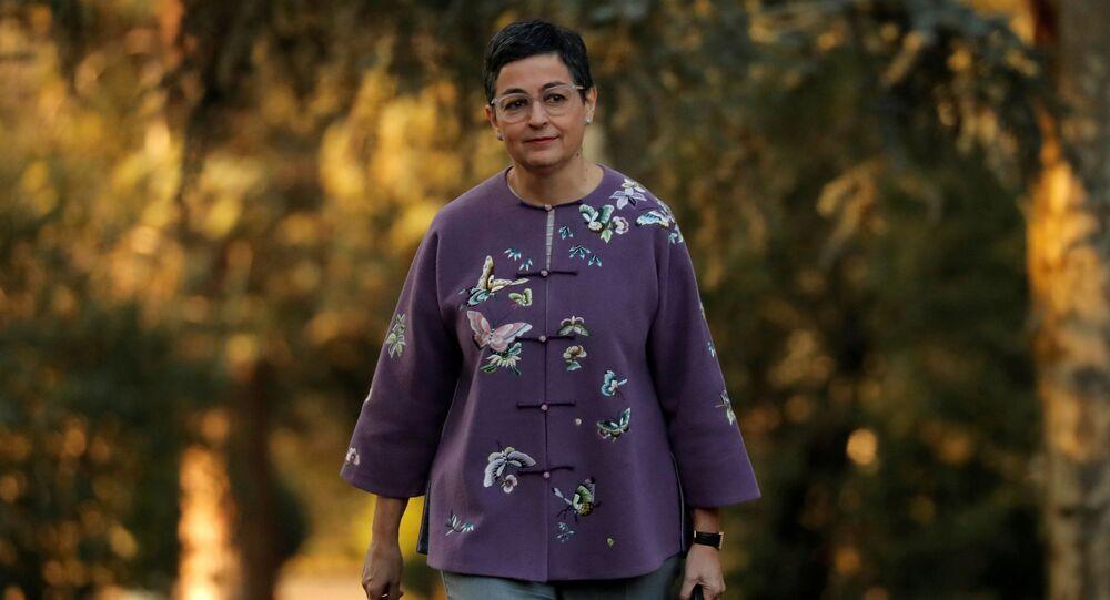 وزيرة الخارجية الإسبانية، أرانشا غونزاليس لايا